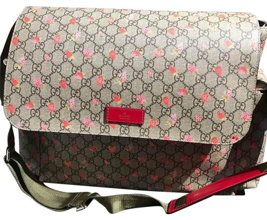 Gucci Beige/Multicolor Diaper Bag