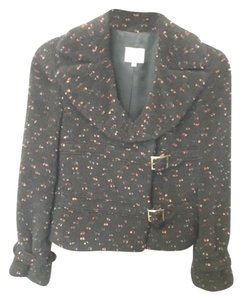 Armani Collezioni black with orange and purple flakes Jacket