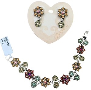 Brighton Brighton Garden Of Eden Bracelet And Earrings Set