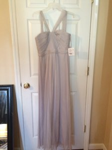 Amsale Dove Grey G878c Dress