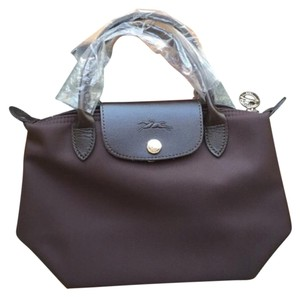 Longchamp Tote in Ebony