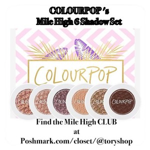 Colourpop Cosmetics Colourpop's Mile High Eyeshadow Set