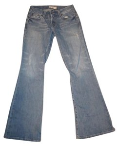 BKE Flare Leg Jeans-Medium Wash