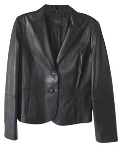 Max Mara Leather Lambskin Leather Jacket