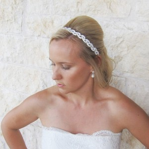 Allure Bridals Beautiful Swarovski Bridal Headband