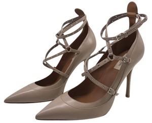 Valentino Love Latch Classic Nude Pumps