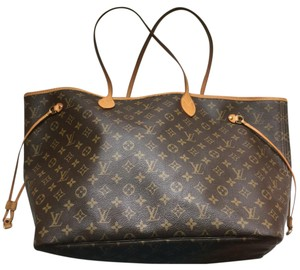 Louis Vuitton Tote in Brown Extra Large