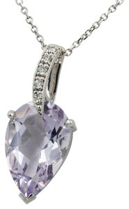 Other 4.86CT PEAR SHAPE PINK AMETHYST ON A 16