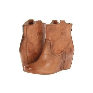 Frye Leather Camel Boots