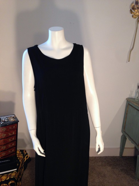 Black Maxi Dress by Great Stuff Long Long