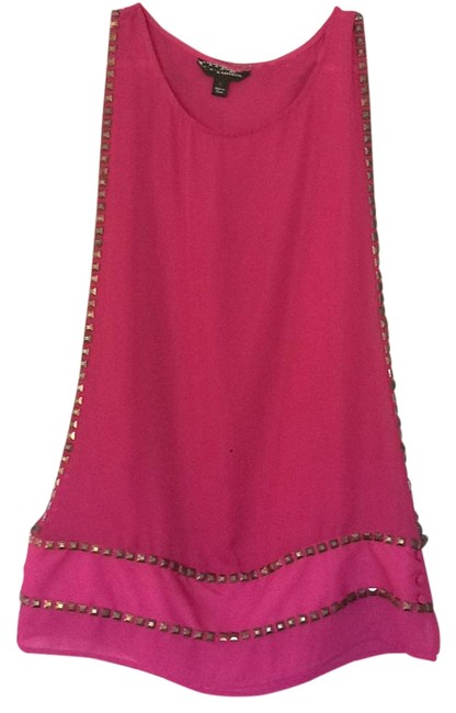 Preload https://img-static.tradesy.com/item/19645772/rock-and-republic-fuchsia-tunic-size-4-s-0-1-650-650.jpg
