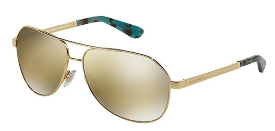 Preload https://img-static.tradesy.com/item/19645818/dolce-and-gabbana-gold-dolce-and-gabbana-2144-aviator-dg2144-02f9-sunglasses-0-0-540-540.jpg
