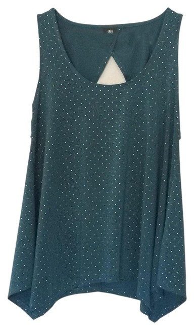 Preload https://img-static.tradesy.com/item/19645876/rock-and-republic-dark-green-tunic-size-4-s-0-1-650-650.jpg