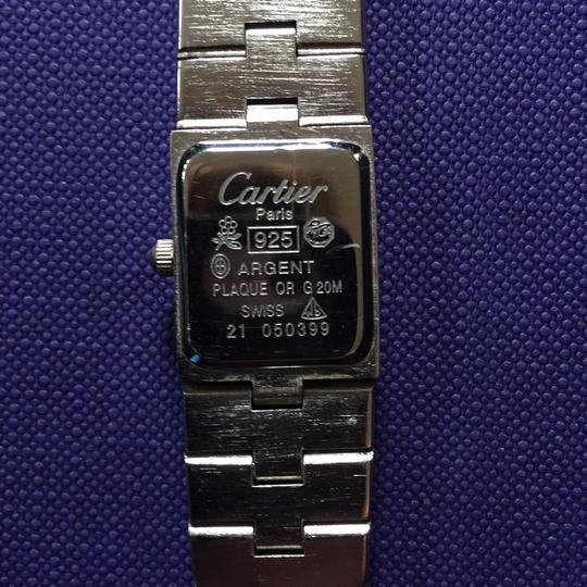 Cartier Paris 925 argent plaque or G 20N Swiss 21050399