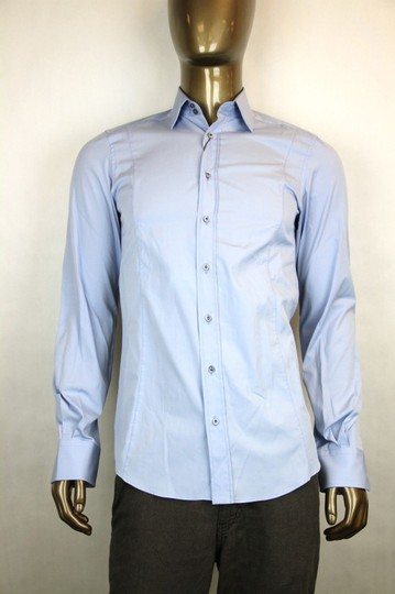 Preload https://item3.tradesy.com/images/gucci-blue-men-s-cotton-dress-fitted-15-34-307674-4910-shirt-19646142-0-0.jpg?width=440&height=440