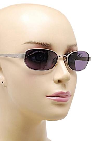 Preload https://item1.tradesy.com/images/chanel-silver-wblue-grey-lens-brushed-oval-wblueish-sunglasses-19646280-0-1.jpg?width=440&height=440