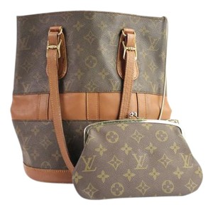 Louis Vuitton Kisslock Neverfull Noe Bucket Shoulder Bag