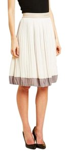 Paniz Pleated Classic Skirt Gray