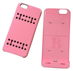 BOOTCASE x CARTE BLANCHE iPhone 6s Battery Case, Boostcase Detachable Charging Case (Pink)