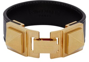 Saint Laurent SAINT LAURENT SIGNATURE CLOUS PUNK CARRE BRACELET