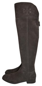 Tory Burch Riding Otk CAFE BROWN SUEDE Boots