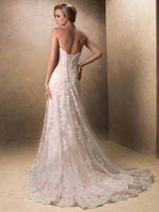 Maggie Sottero Emma - 84119 Usa02129 3ms760+ivory+8 3fs Wedding Dress