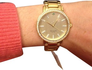 Kate Spade Brand New Kate spade Pave Gold Watch