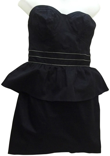 Preload https://item1.tradesy.com/images/black-parameter-mod-zipper-bustier-eve-above-knee-cocktail-dress-size-4-s-19646490-0-3.jpg?width=400&height=650
