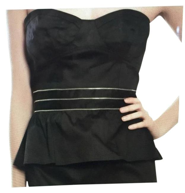 Other Bustier Style Zipper Detail Evening Sexy Dress