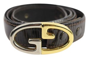 Gucci Lizard Interlocking G Belt 57GGA926