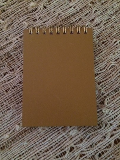 Gucci Gucci Leather Notepad with Lavender Pages