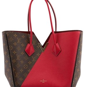 Louis Vuitton Sexy Must Have Tote in Brown Red