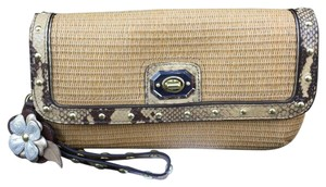 Coach Wristlet in Natural
