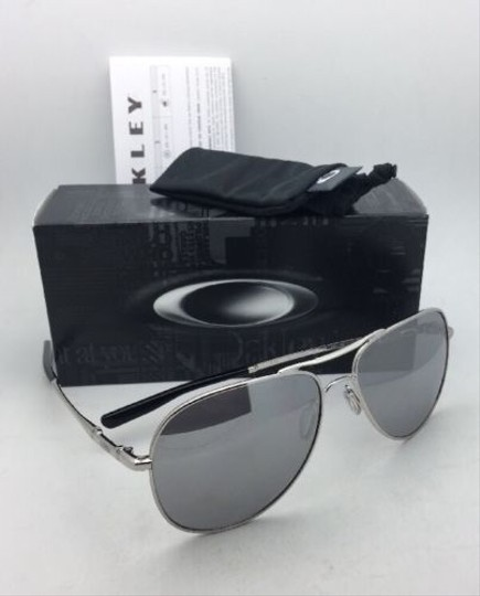 Oakley OAKLEY Sunglasses ELMONT L OO4119-0860 Chrome Aviator w/Chrome Iridium