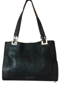 Vince Camuto Adela Handbag Bubble Lamb Leather Tote in Black