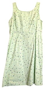 American Eagle Outfitters short dress Light Green/Mint Cotton Knee Length on Tradesy