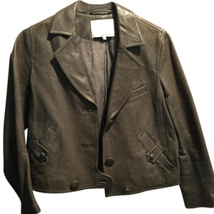 3.1 Phillip Lim Grey Leather Jacket