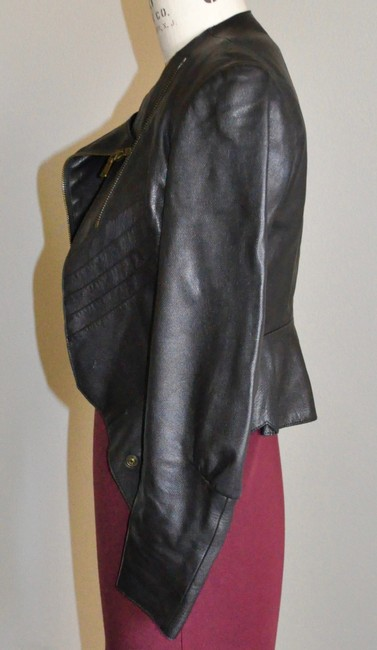 Saint Laurent Brown Leather Jacket