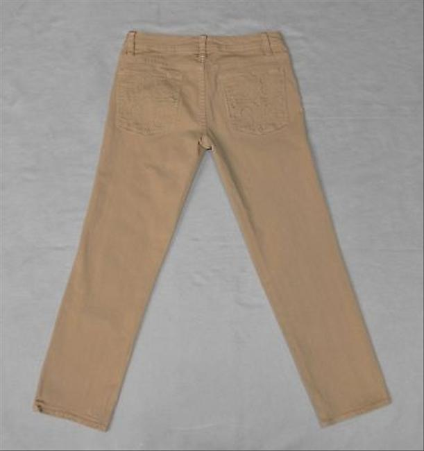 Preload https://img-static.tradesy.com/item/19647061/tory-burch-beige-tan-khaki-embroidered-a8-cotton-pockets-27-capricropped-jeans-size-27-4-s-0-0-650-650.jpg