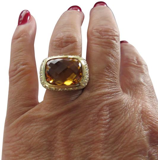 Preload https://item2.tradesy.com/images/david-yurman-yellow-refurbished-by-dy-18k-yg-modern-noblesse-citrinediamond-new-stone-ring-19647106-0-4.jpg?width=440&height=440