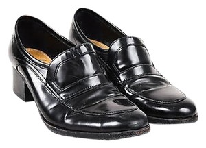 Lanvin Glossy Leather Black Flats