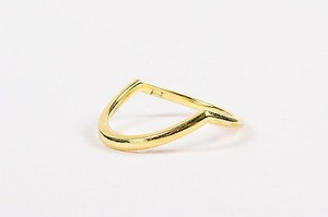 Other Eva Fehren 18k Yellow Gold Chevron Shaped Sergeant Band Ring