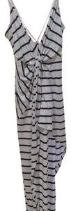 Black and white Maxi Dress by SABO SKIRT