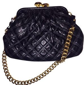 6ddfa1cc3456 Marc Jacobs Vintage Purse Quilted Clasp Shoulder Bag. Marc Jacobs Quilted  Purse Black Lambskin Leather ...