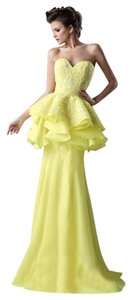 MNM Couture Evening Gown Long Classic Night Out Strapless Dress