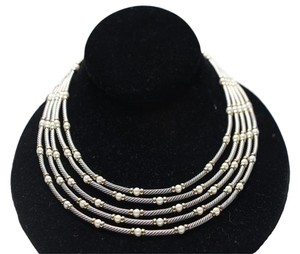 David Yurman David Yurman Multi Strand Pearl Necklace