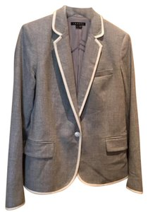 Theory Light gray and white Blazer