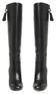 Louise et Cie Lo-zavia Tall Leather Black Boots