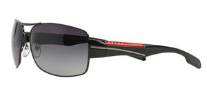 Prada Prada Sport SPS53N Sunglasses PS53N Black 7AX5W1 Authentic