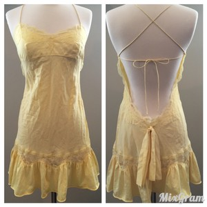 Victoria's Secret short dress Yellow on Tradesy